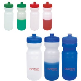 Color-Changing Water Bottle Printed with Your Logo