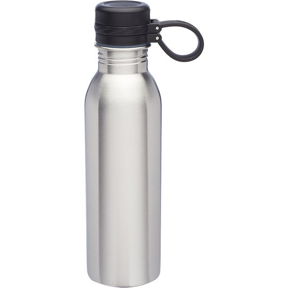 Silver Color Pop Stainless Steel Water Bottle