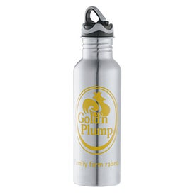 Printed Colorband Stainless Bottle