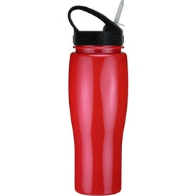 Contour Bike Bottle with Sport Sip Lid for Advertising