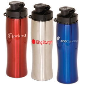 Contour Stainless Bottle Imprinted with Your Logo