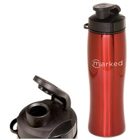 Contour Stainless Bottle Printed with Your Logo