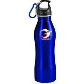 Contour Stainless Steel Sports Bottle Imprinted with Your Logo