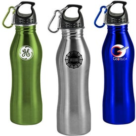 Contour Stainless Steel Sports Bottle