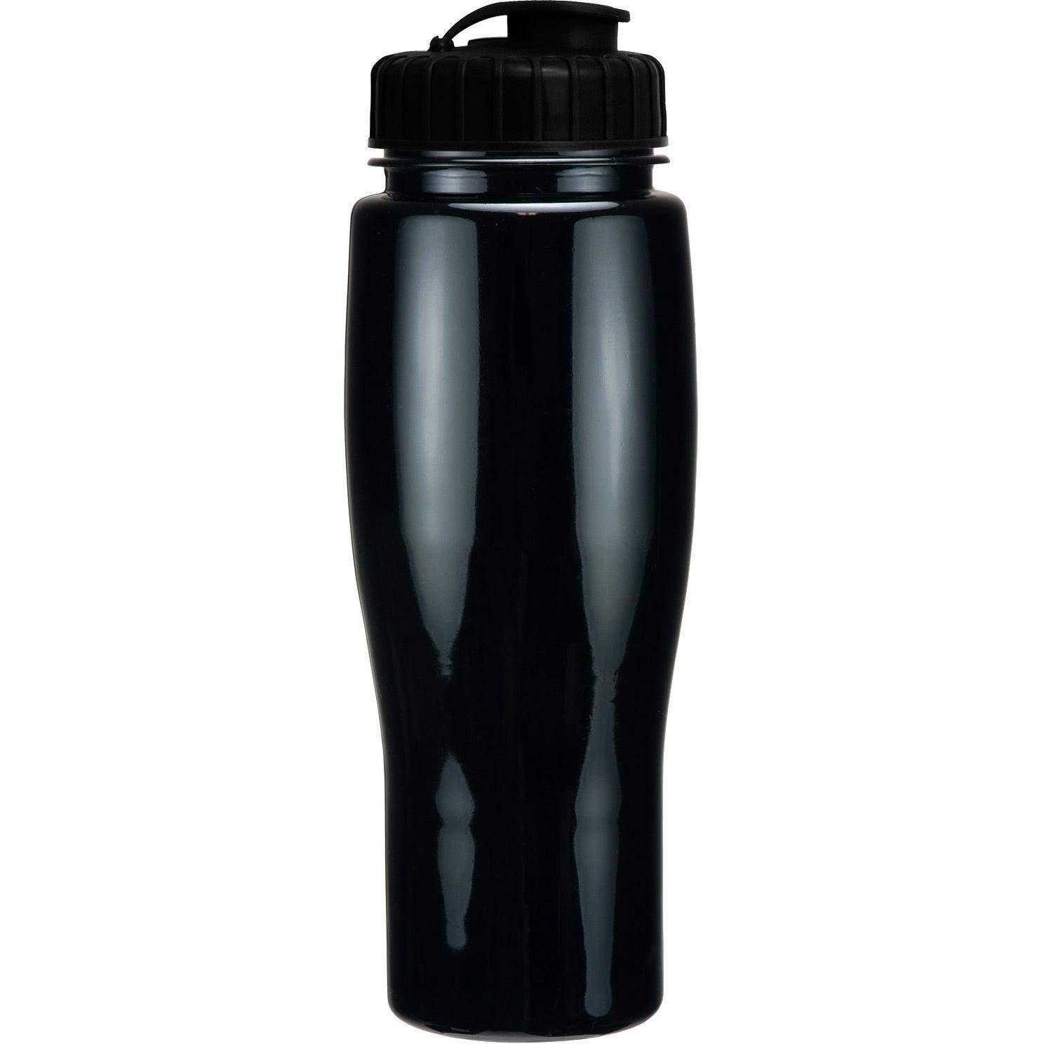 Opaque Contour Bottle With Flip Top Lid (24 Oz.)