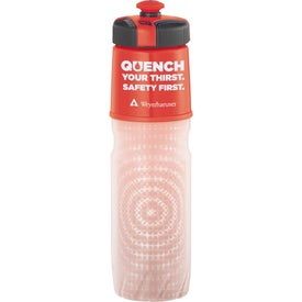 Cool Gear Insulated BPA Free Squeeze Bottle with Your Slogan