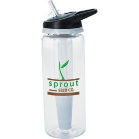 Cool Gear Straightwall Pure Bottle with Your Slogan