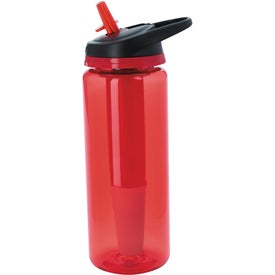 Imprinted Cool Gear Straightwall Pure Bottle