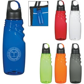 Crest Carabiner Sports Bottle (24 Oz.)