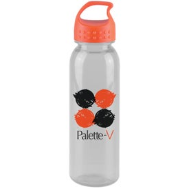 Poly-Pure Bottle with Crest Lid Printed with Your Logo