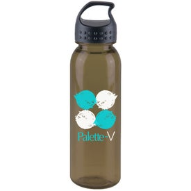 Poly-Pure Bottle with Crest Lid Branded with Your Logo