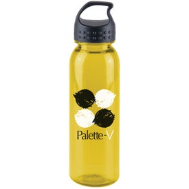 Poly-Pure Bottle with Crest Lid for Your Organization