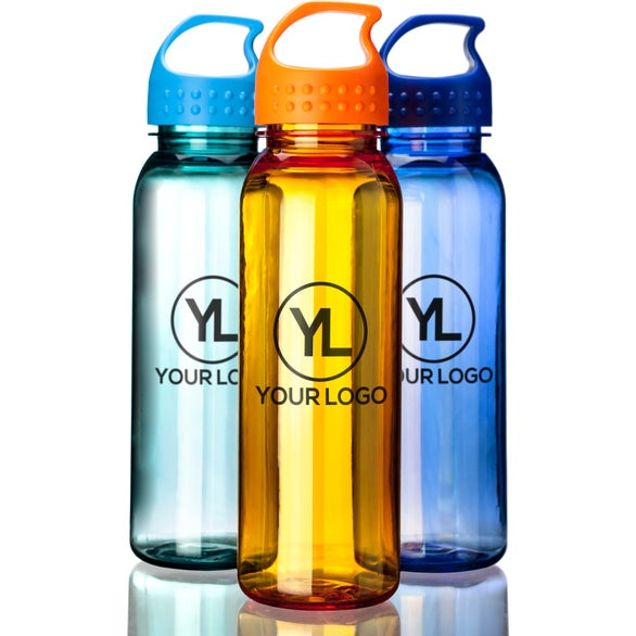 Poly-Pure Bottle with Crest Lid