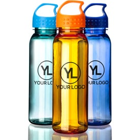 Custom Poly-Pure Bottle with Crest Lid