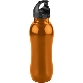 Curvaceous Stainless Bottle for Customization