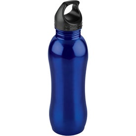 Curvaceous Stainless Bottle with Your Logo