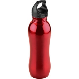 Curvaceous Stainless Bottle for Marketing