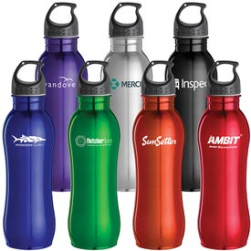 Curvaceous Stainless Bottle (25 Oz.)