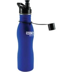 Curve Grip Bottle for Advertising