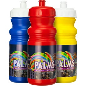 Cycle Bottle (20 Oz., Full Color Logo)