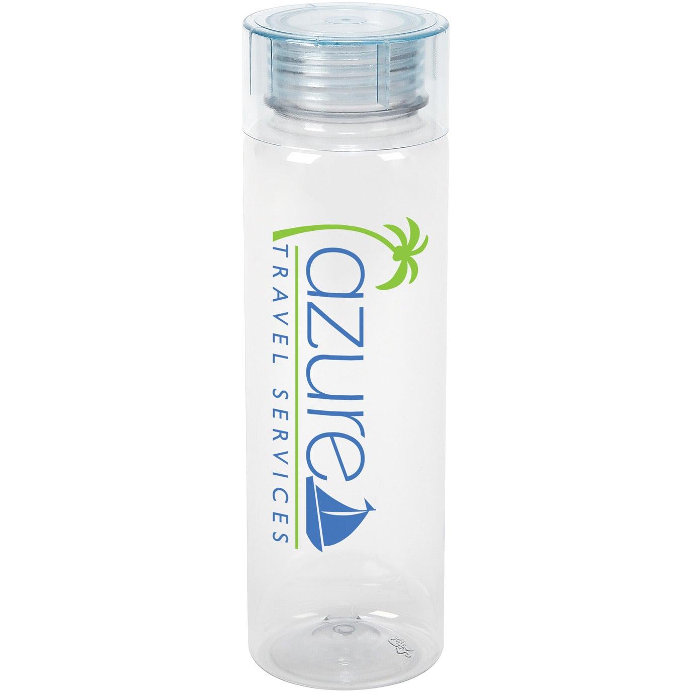 Cylinder bottle 27 oz personalized water bottles 3 for Custom bottled water bottles