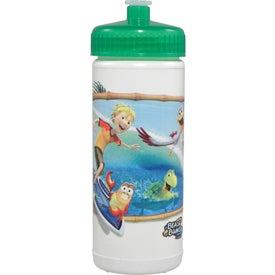 Sports Bottle (16 Oz., Full Color Logo)