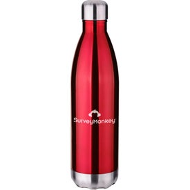 Double Wall Stainless Vacuum Water Bottle (26 Oz.)