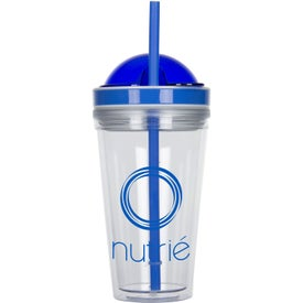 Double Wall Tumbler With Juicer (16 Oz.)