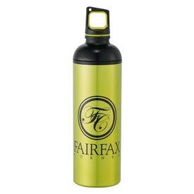 Advertising Dual Cap Aluminum Bottle