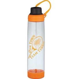 Customized Dual Cap BPA Free Sport Bottle