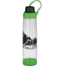 Custom Dual Cap BPA Free Sport Bottle