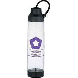 Imprinted Dual Cap BPA Free Sport Bottle