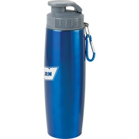 Duo Insulated Tumbler/Water Bottle with Clip Branded with Your Logo