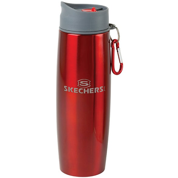 Duo Insulated Tumbler/Water Bottle with Clip (16 Oz.)