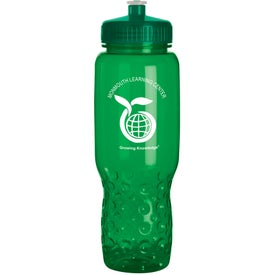 Easy Grip Water Bottle with Your Slogan
