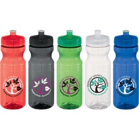 Easy Squeezy Crystal Sports Bottle (24 Oz.)