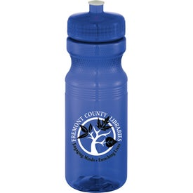 Easy Squeezy Crystal Sports Bottles (24 Oz.)