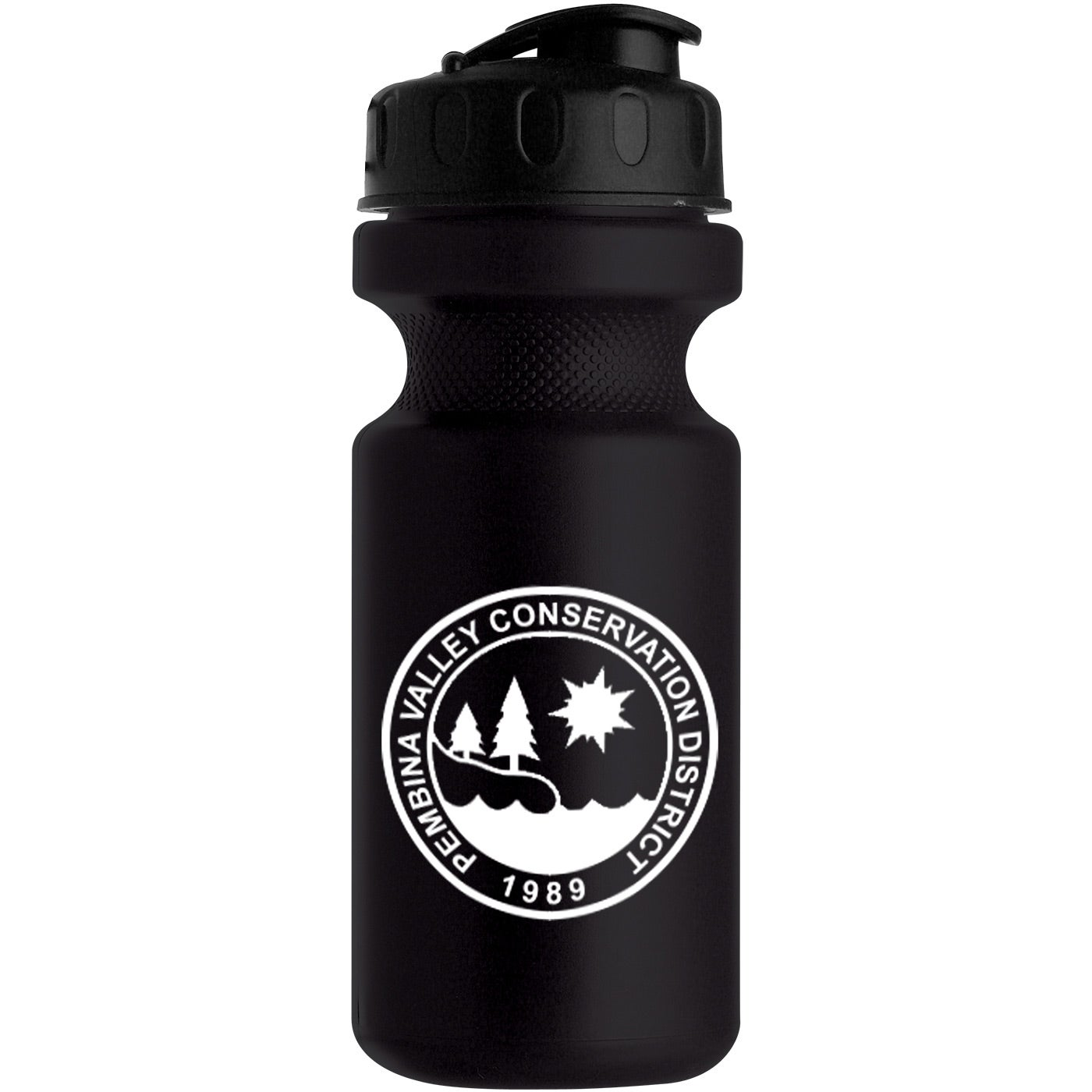 Eco-Cycle Bottle with Flip Top Lid (22 Oz.)