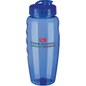 Gripper Poly Clear Bottle