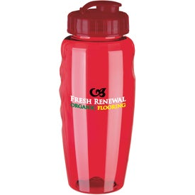 Gripper Poly Clear Bottle for Your Company