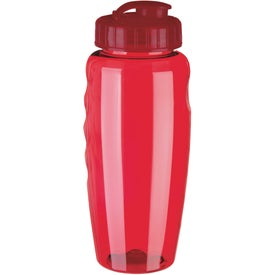 Gripper Poly Clear Bottle for Customization