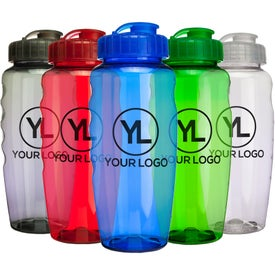 Gripper Poly Clear Bottle Giveaways