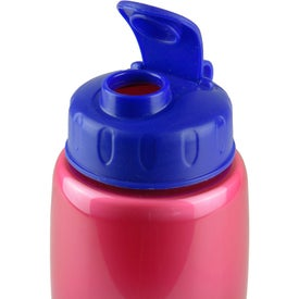 Eco Pearl Sports Bottle with Flip Lid Printed with Your Logo