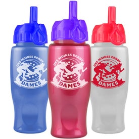 Eco Pearl Sports Bottle with Flip Straw Lid for Your Company