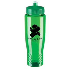 Eco Poly Clear Bottle