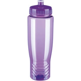 Eco Poly Clear Bottle with Your Slogan