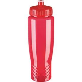 Custom Eco Poly Clear Bottle