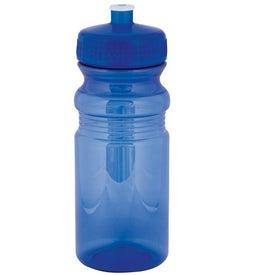 Monogrammed Polyclear Bottle