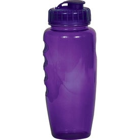 Polyclear Gripper Bottle for Promotion