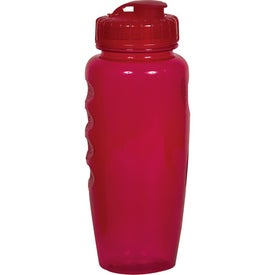 Printed Polyclear Gripper Bottle